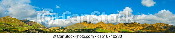 Mountains of New Zealand - csp18740230