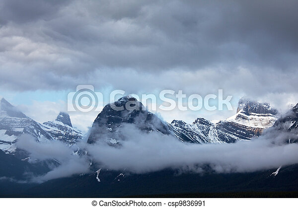 Mountains - csp9836991
