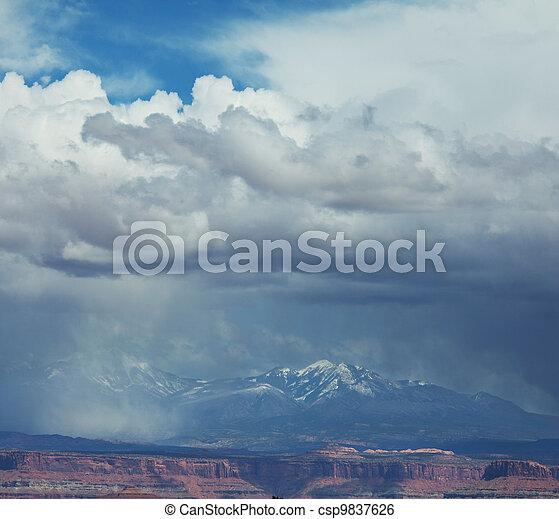Mountains - csp9837626