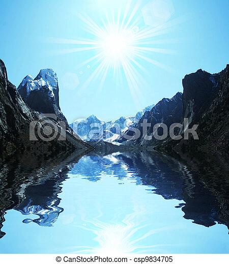 Mountains - csp9834705
