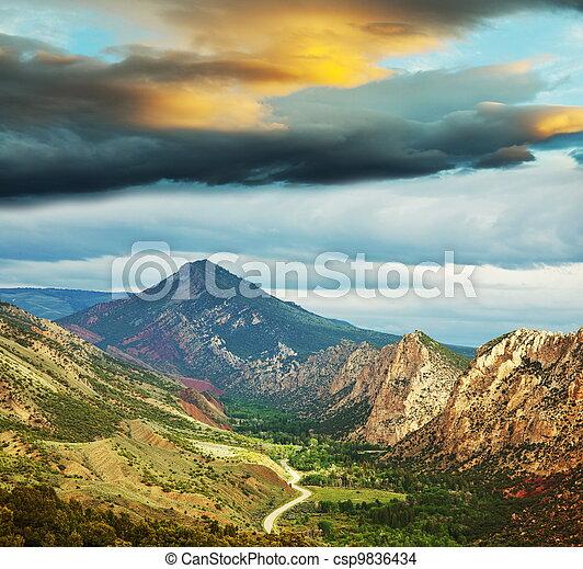 Mountains - csp9836434