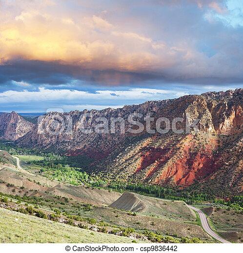 Mountains - csp9836442