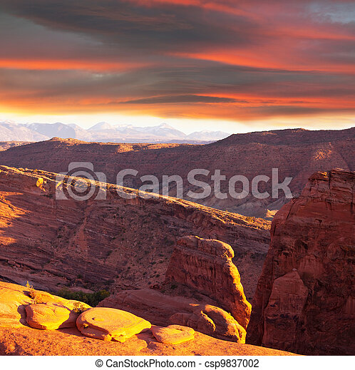 Mountains - csp9837002