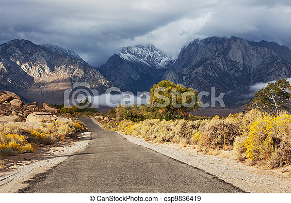 Mountains - csp9836419