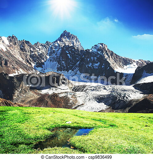 Mountains - csp9836499