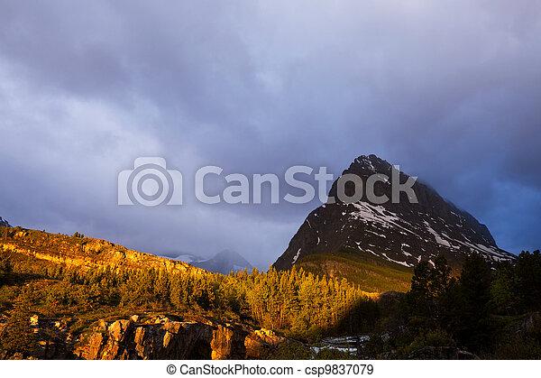 Mountains - csp9837079