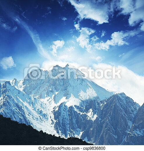 Mountains - csp9836800
