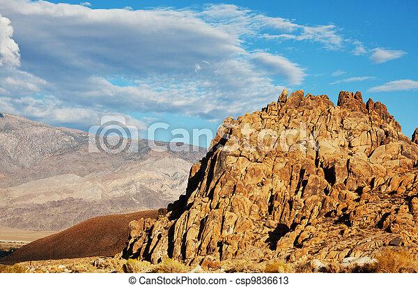 Mountains - csp9836613
