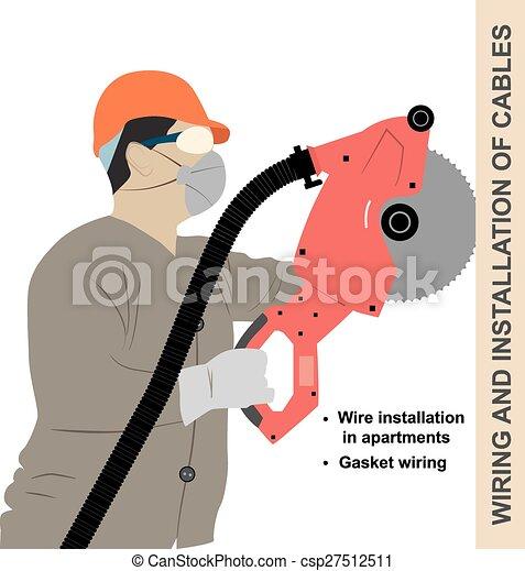 Mounting wiring