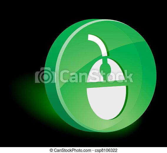 Mouse Icon. - csp8106322