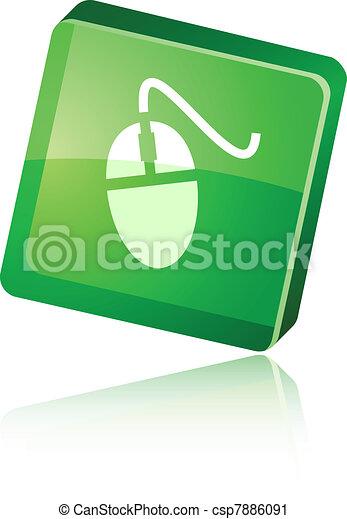 Mouse icon. - csp7886091