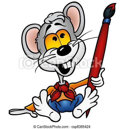 Mouse Painter - csp8385424