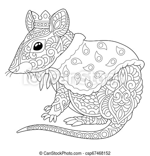 Mouse Rat Coloring Page Coloring Book Page Anti Stress Colouring Picture With Mouse Or Rat In Crown Canstock We believe in helping you find the product that is right for you. https www canstockphoto com mouse rat coloring page 67468152 html