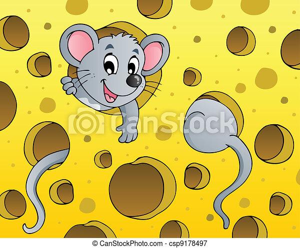 Mouse theme image 1 - csp9178497