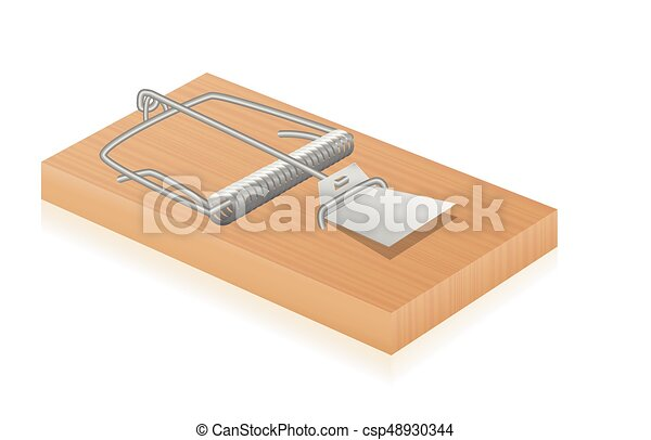Mouse Trap Spring Loaded Bar Trap - csp48930344