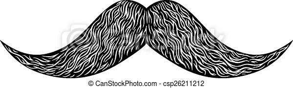 moustache - csp26211212