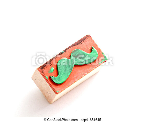moustaches rubber stamp. Movember men's health awareness concept. - csp41651645