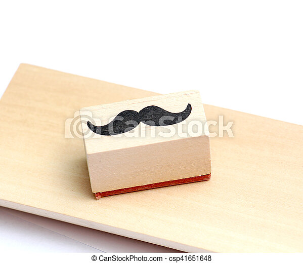 moustaches rubber stamp. Movember men's health awareness concept. - csp41651648