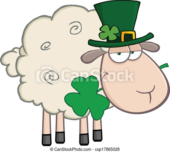 Mouton irlandais caract re dessin anim mouton tr fle - Mouton dessin anime ...