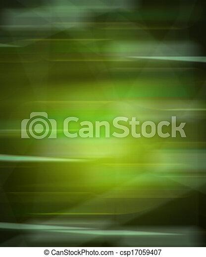 mouvement, arrière-plan vert, barbouillage - csp17059407