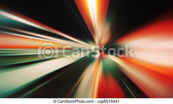 mouvement, fond, barbouillage - csp6514441