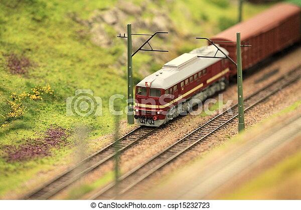 mouvement, train, fret - csp15232723