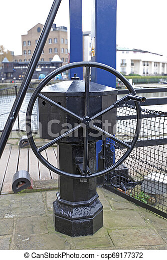 Movable Bridge Wheel - csp69177372