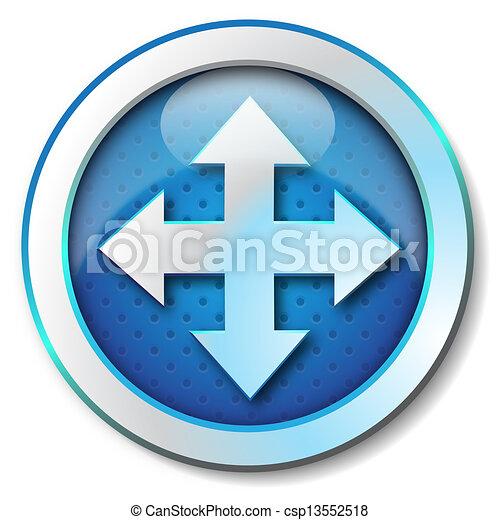 Move icon - csp13552518