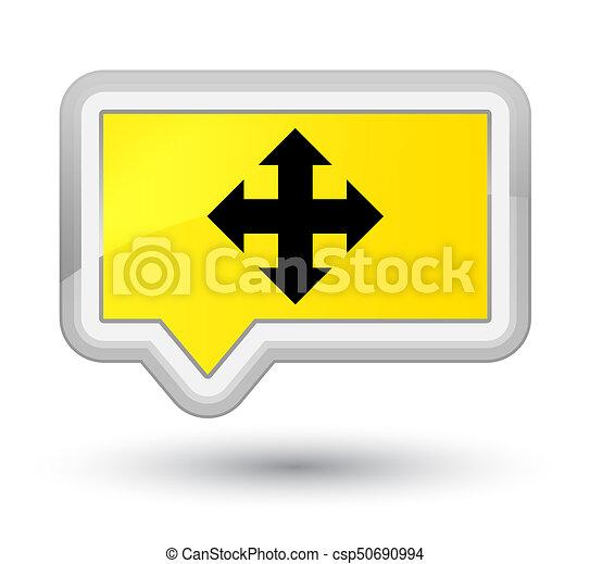 Move icon prime yellow banner button - csp50690994