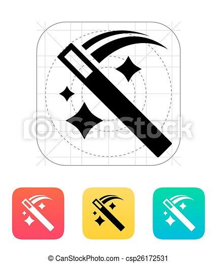 Move Magic Wand Icon Vector Illustration
