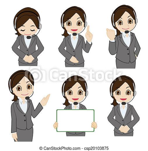 Movement of female operator - csp20103875