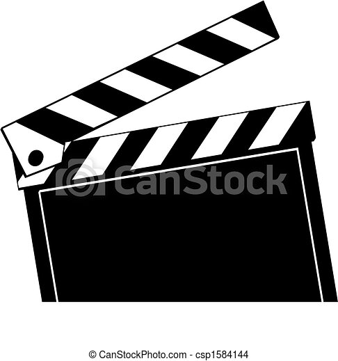 opened movie clapboard used by movie directors rh canstockphoto com