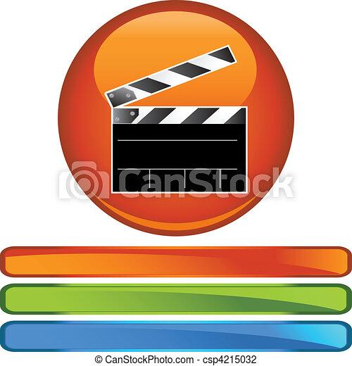 Movie Clapboard - csp4215032