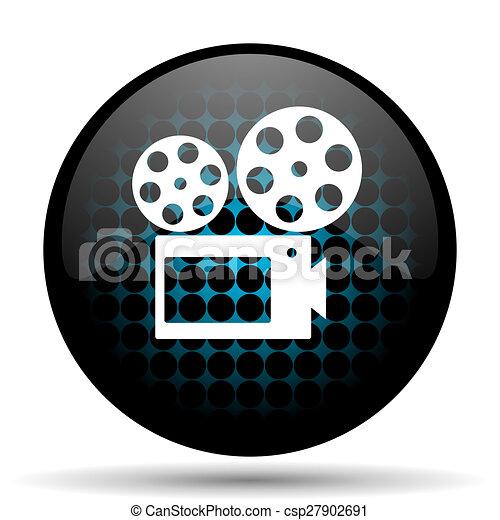 movie icon cinema sign - csp27902691