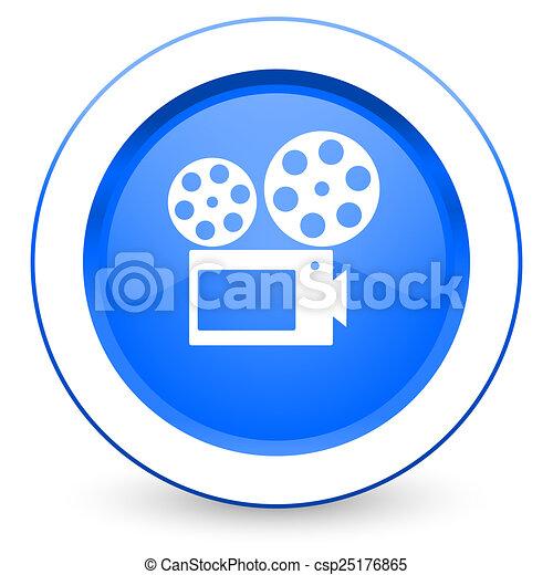 movie icon cinema sign - csp25176865