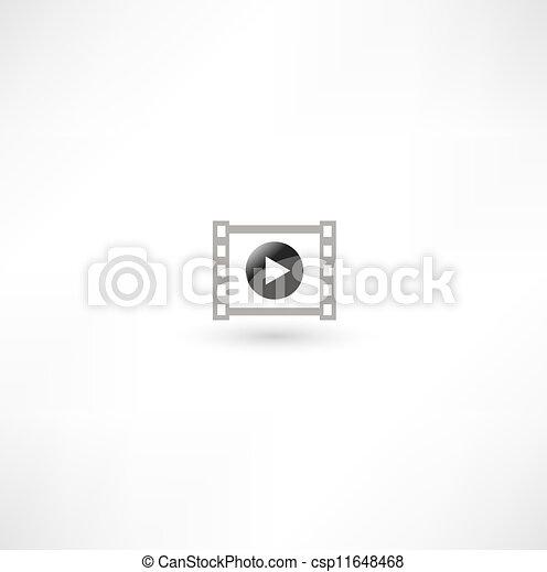 Movie Icon - csp11648468