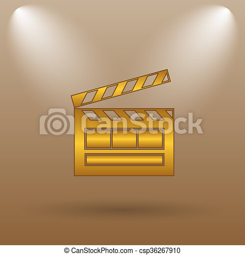 Movie icon - csp36267910