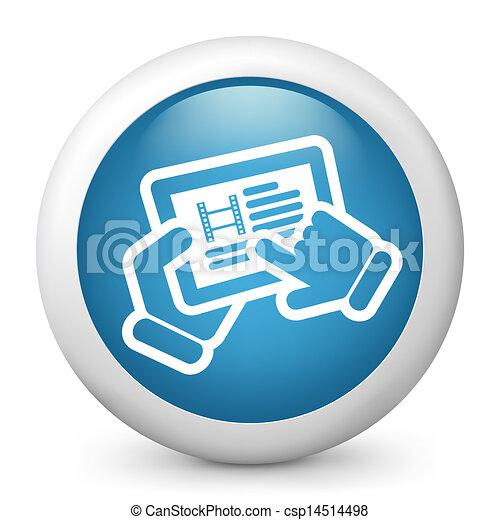 Movie icon - csp14514498