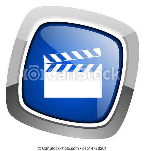 movie icon - csp14778301