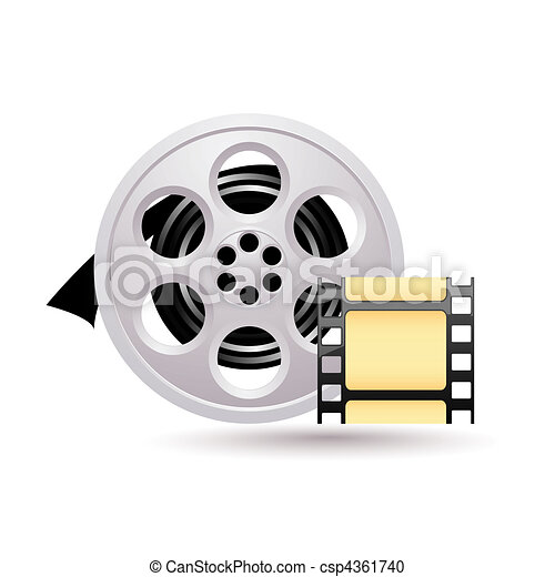 Movie icon - csp4361740