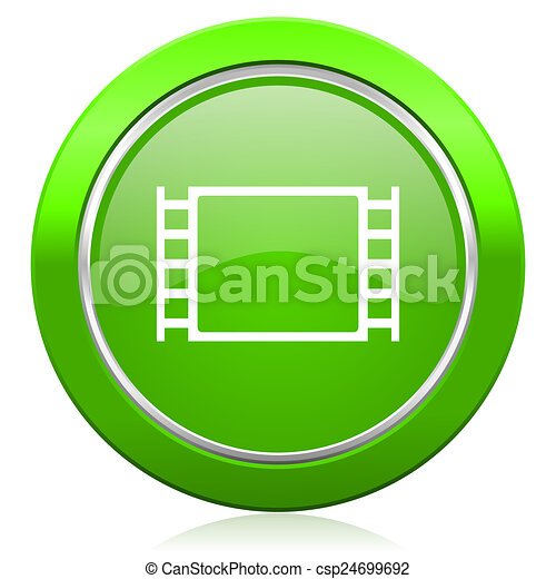 movie icon - csp24699692