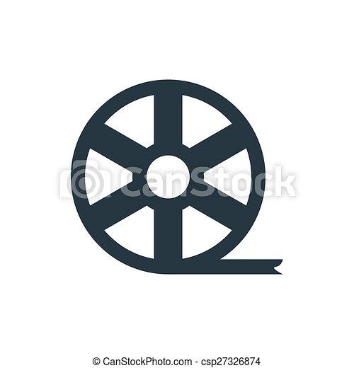 movie icon - csp27326874