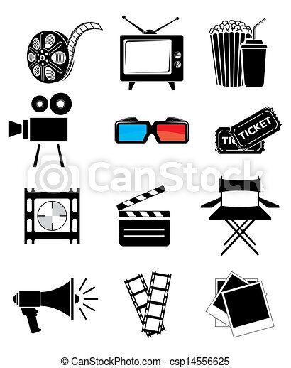 Movie icon set - csp14556625