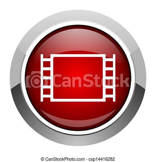 movie icon - csp14416282