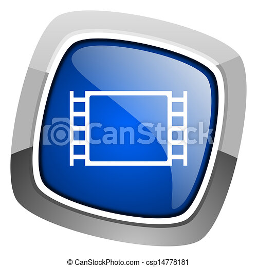 movie icon - csp14778181