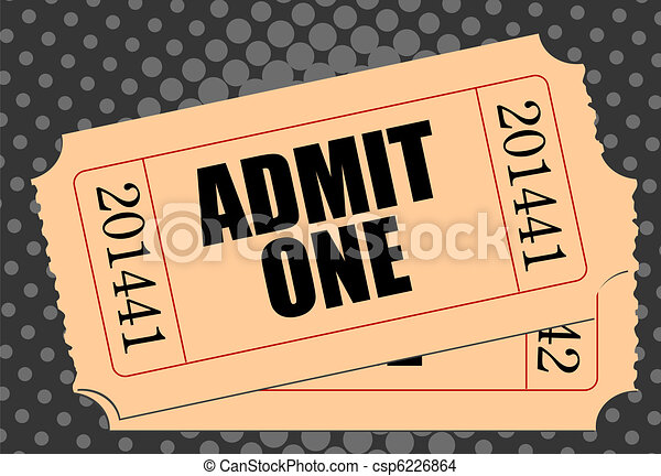 Movie ticket - csp6226864