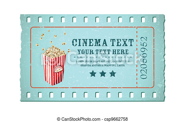 Movie Ticket - csp9662758