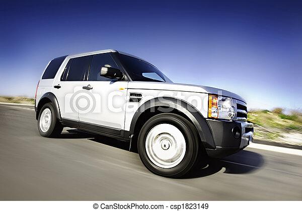 movimento, automobile, 4x4 - csp1823149