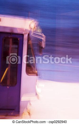 movimento, automobile, strada - csp0292940