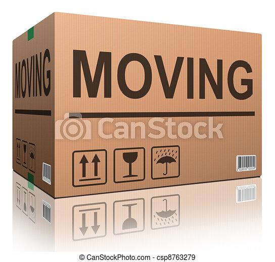 moving box - csp8763279